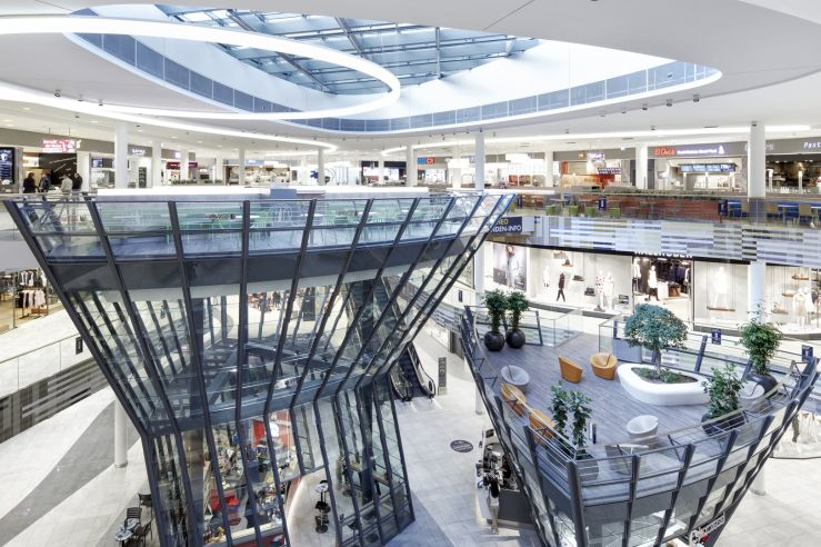 """1st. Award at the restricted competition of Shopping Center Milaneo and development of the """"Concept Design Interior"""", in Stuttgart"""