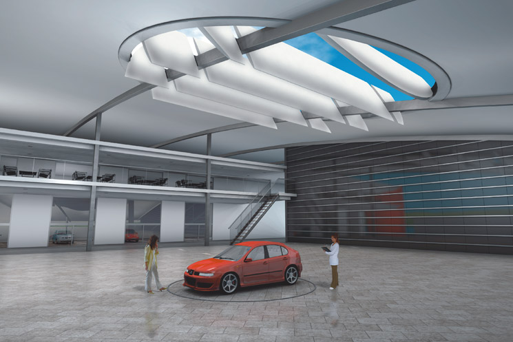 Restricted competition for the new SEAT Design Center in Martorell, Barcelona