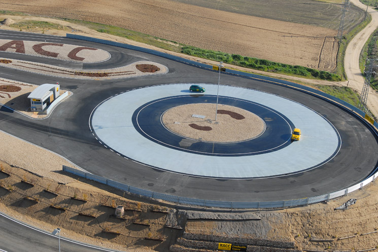 Traffic Safety Training Center, skidding track, Off Road. In collaboration with GB-Consult (AT)